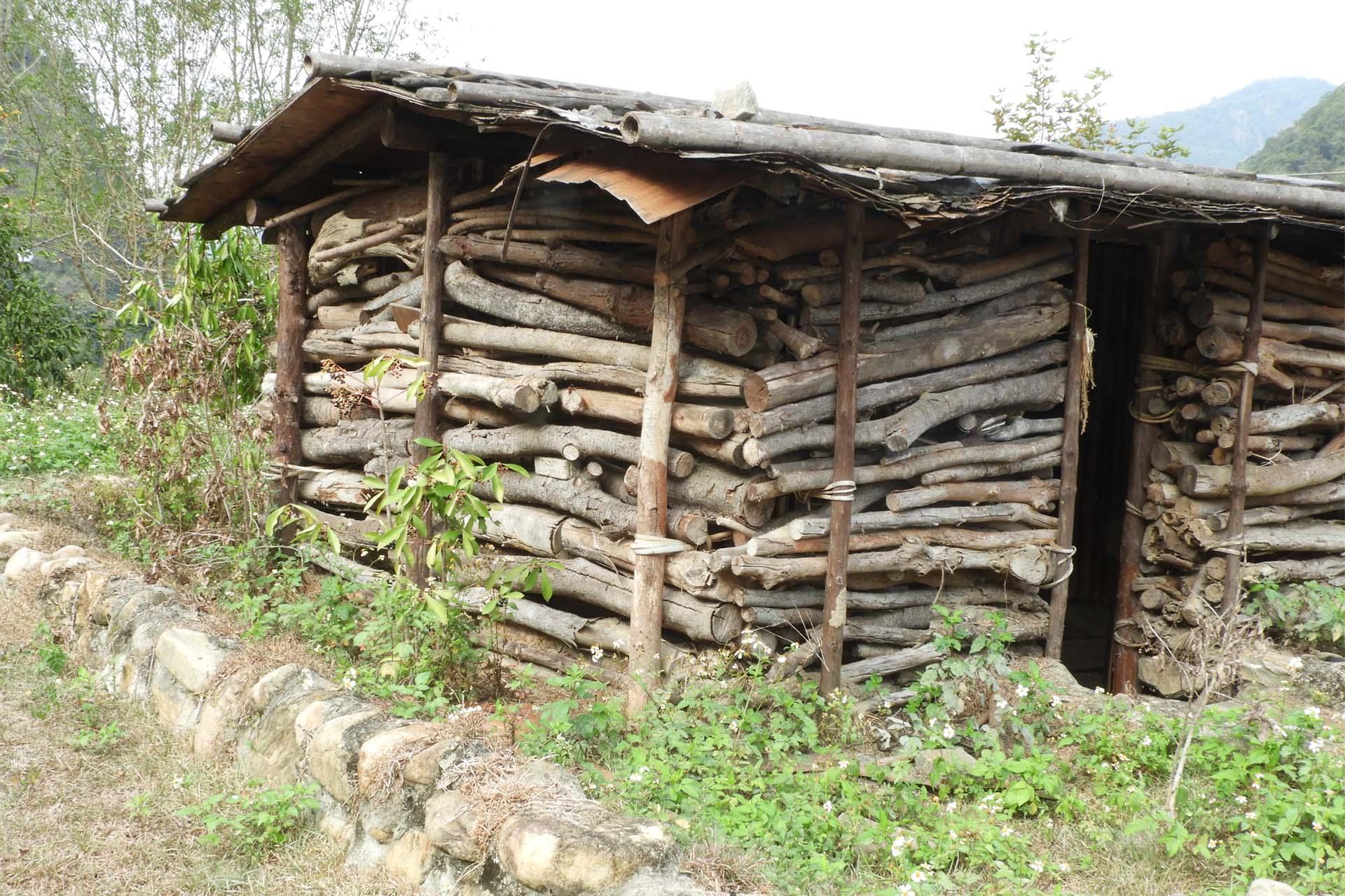 古老的房屋喚起童年時的回憶